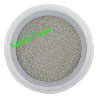 PTFE Tri Clamp Screen Gasket usafi na SS 316 mesh